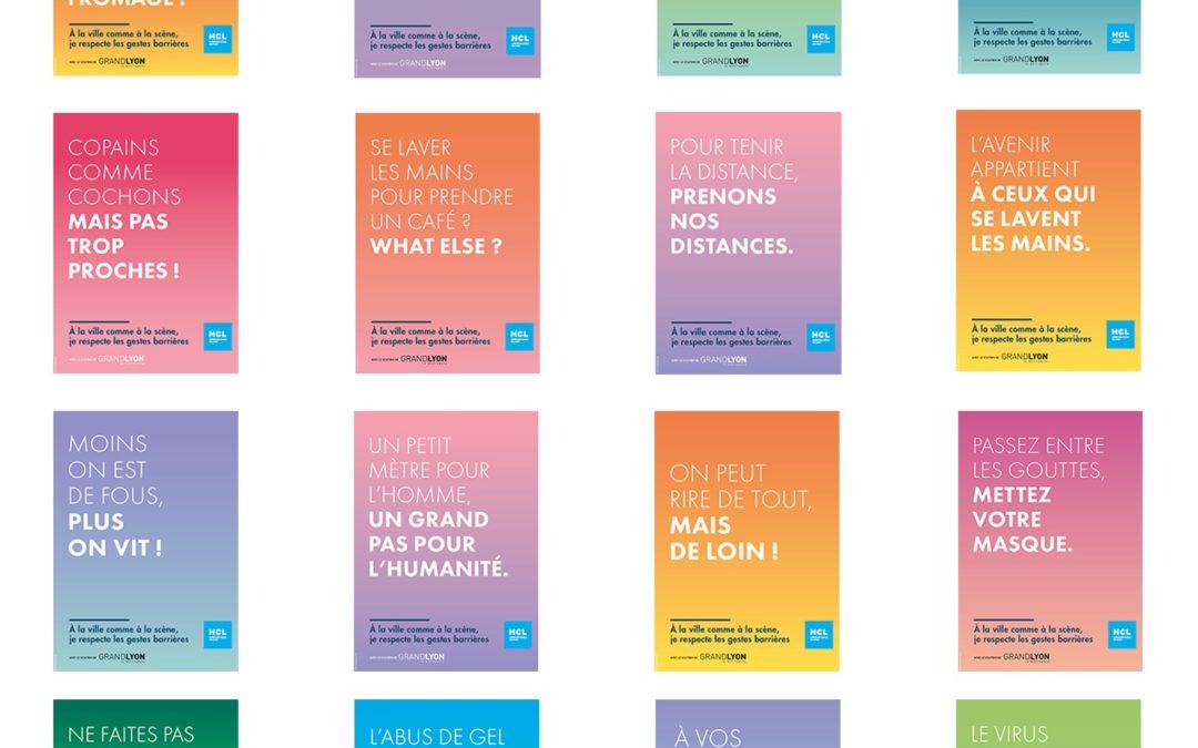 Les gestes barrières : les Hospices civils de Lyon se lance dans une campagne de communication grand public